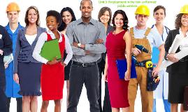 Unit 3: Employment in the non-uniformed public services