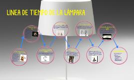 LINEA DE TIEMPO DE LA LÁMPARA