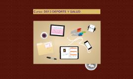 Copy of Deporte y Salud