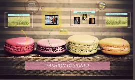 Copy of Fashion designer