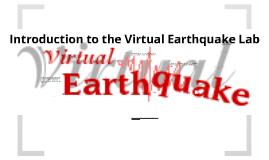 Virtual Earthquake Lab