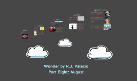 Wonder by R.J. Palacio - Part Eight: August