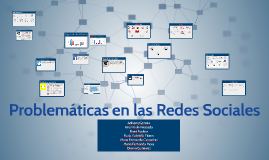 Copy of Problemáticas en las Redes Sociales