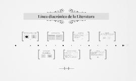 Línea diacrónica de la Literatura