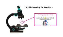 Visible Learning for Teachers Ch 1