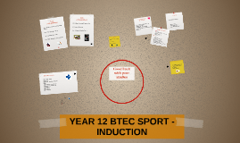 YEAR 12 BTEC SPORT -INDUCTION
