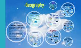 Copy of Geography. Olivia Q. Jordan Ra. 5th