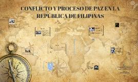 CONFLICTO Y PROCESO DE PAZ
