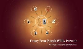 Fanny Fern (Sarah Willis Parton)