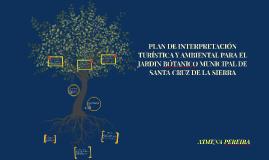 PLAN DE INTERPRETACIÓN TURISTICA Y AMBIENTAL PARA EL JARDIN