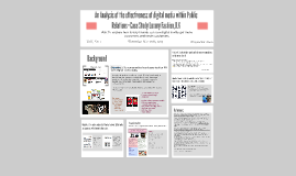 A Study of Effectiveness of digital media in Fashion PR Sect