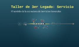 Taller de 3er Legado: Servicio
