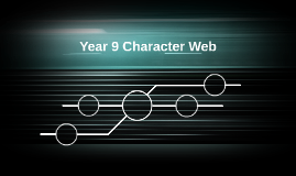 Year 9 Character Web