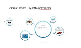 Copy of Grammar: Articles