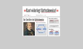 Kant widerlegt Gott!