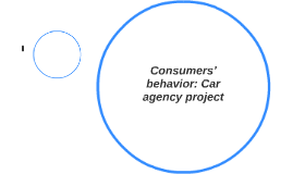 Consumers' behavior: Car agency project