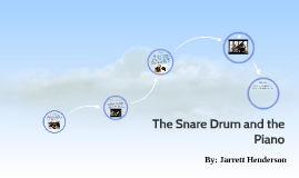 The Snare Drum and Bass Drum