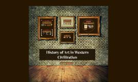 History of Art in Western Civilization