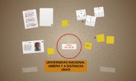 UNIVERSIDAD NACIONAL ABIERA Y A DISTANCIA UNAD
