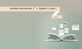 Actividad experimental  N°  9