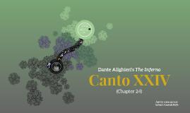 Dante's Inferno Canto XXIV