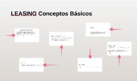 LEASING Conceptos Básicos