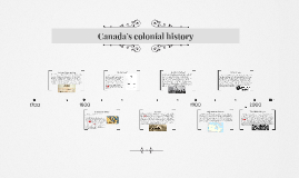Canada's colonial history