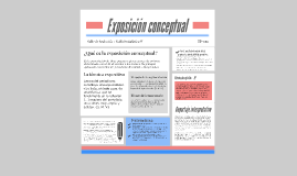 Copy of EXPOSICIÓN CONCEPTUAL