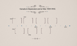 Canada in Depression and at War: 1929-1945