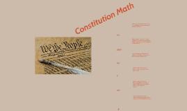 Copy of Constitution Math