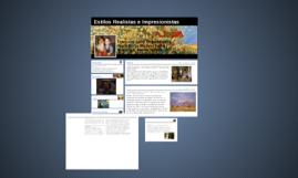 Estilos Realistas e Impresionistas