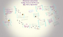 Copy of Proceso Ejecutivo en el C. G. P.