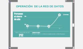 OPERACIÓN  DE LA RED DE DATOS v1