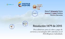 Resolución 1479 de 2015