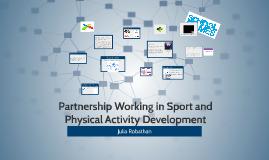 Partnership Working in Sport Development