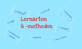 Lernarten und -methoden