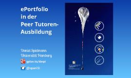 ePortfolio in der Schreibberater-Ausbildung