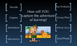 Copy of Capture the Adventure with Technology