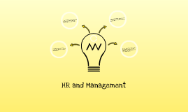 HR and Managers:  What's the connection?
