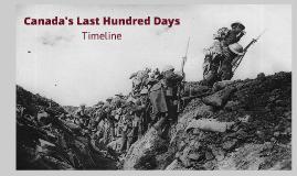 Canada's Last Hundred Days