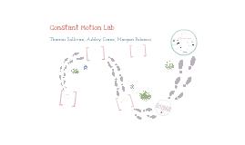 Constant Motion Lab
