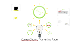 CareerChomp Marketing Page (Explaining the process)