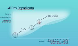 Das Depotkonto