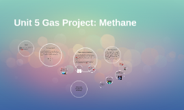 The History Of Methane