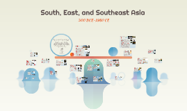 South, East, and Southeast Asia