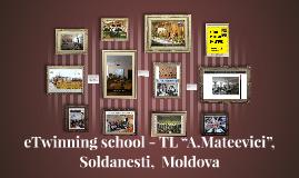 "etwinning school -TL ""A.Mateevici"","