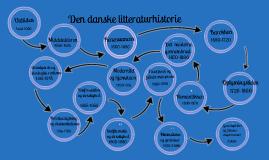 Copy of Den danske litteraturhistorie
