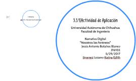 3.3.4)Actividad de Aplicación