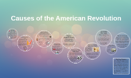 Copy of Causes of the American Revolution