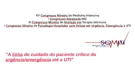 XV Congresso Mineiro de Medicina Intensiva